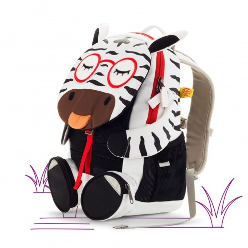 Affenzahn Large Friends Zena Zebra Backpack