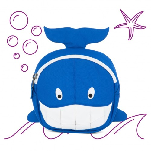 Affenzahn Small Friends Willi Whale Backpack