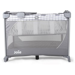 Joie Commuter Change Travel Cot (Cloud) - Free Mattress