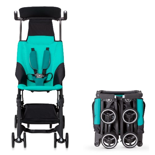 gb Pockit Compact Stroller Turquoise