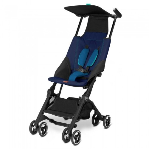 gb Pockit Compact Stroller Navy Blue