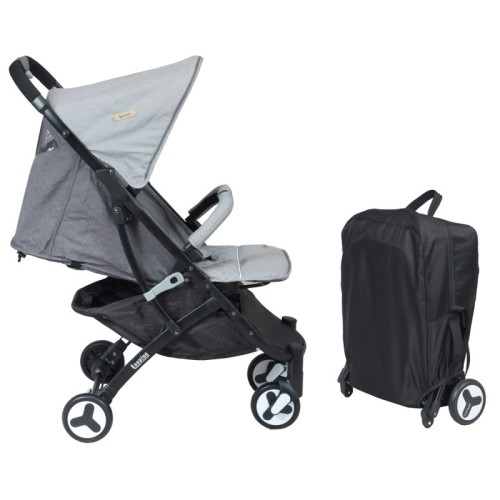 Looping Squizz Stroller Black Frame