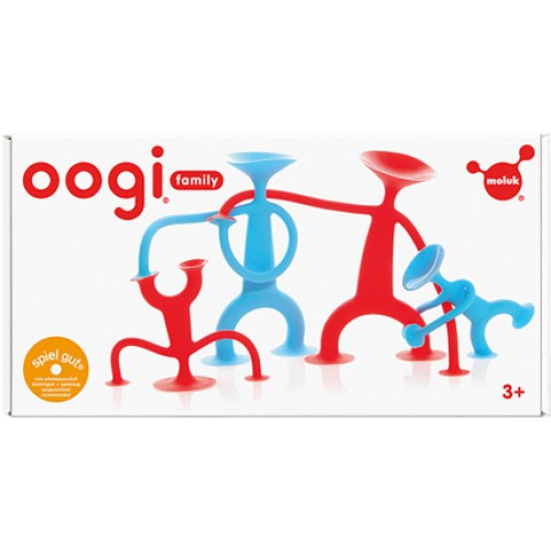 Moluk Oogi Family Toy - 2 Large and 2 Junior Oogis