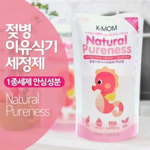 K-MOM Natural Pureness Feeding Bottle Cleanser Refill (500ml)