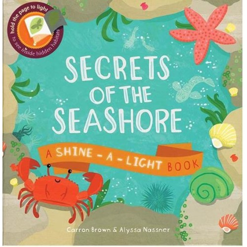 Shine-A-Light Series: Secrets Of the Seashore (Paperback Cover)