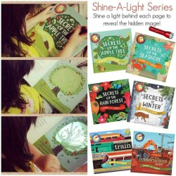 Shine-A-Light Series: On The Farm (Hardback Cover)